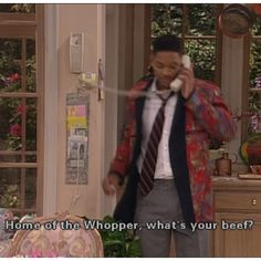 Fresh Prince going to use this line one day