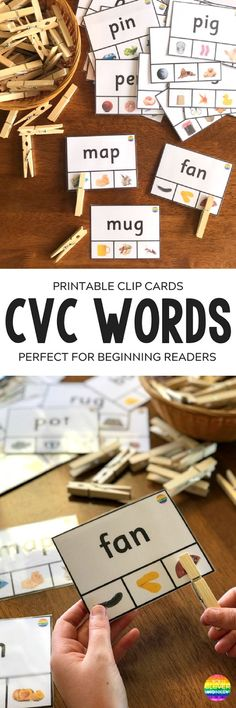 Minimalist Learning to Read CVC Words use these ready to print resources to help young children Top Search - Fresh preschool beds Photos