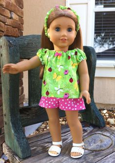 Hey, I found this really awesome Etsy listing at http://www.etsy.com/listing/151482292/american-girl-doll-clothes-sweet-summer