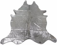 Silver Metallic Cowhide Rug Size: X ft Silver Metallic on Speckled Cowhide Furniture, Sheepskin Rug, Cow Hide Rug, White Rug, Rugs On Carpet, Rug Size, Metallic, Trending Outfits, Unique Jewelry