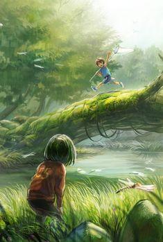 boy's adventure, Honoka Sida