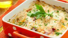 Beşamel sos, mantar ve patates. Evet, biliyorum kulağa muhteşem geliyor!