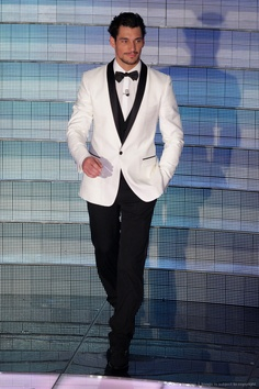 Image detail for -SAN REMO, ITALY - FEBRUARY 21: David Gandy attends the fifth evening of the 59th San Remo Song Festival at Ariston Theatre on February 21, 2009 in San...