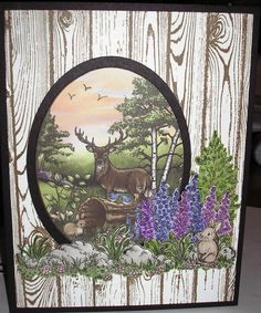 Woodsy Wonderland by Nan Cee's - Cards and Paper Crafts at Splitcoaststampers