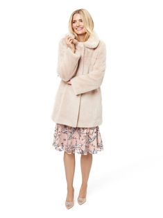 Women's Coats and Jackets Online Dresses For Sale, Girls Dresses, Flower Girl Dresses, Different Dress Styles, Monogram Styles, Fit And Flare, Coats For Women, Bridal Gowns, Fur Coat