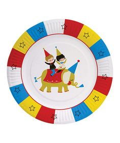 Another great find on #zulily! Party Partners Big Top Paper Plate - Set of 16 by Party Partners #zulilyfinds
