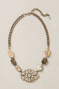 H&r Johnson Floral Porcelain Long Chunky Statement Necklace Pendant England Let Our Commodities Go To The World Jewelry & Watches