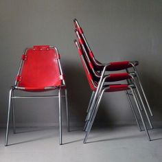 Les Arces Dinner Chair by Charlotte Perriand for Unknown Manufacturer