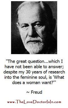 I pity Mrs. Freud!
