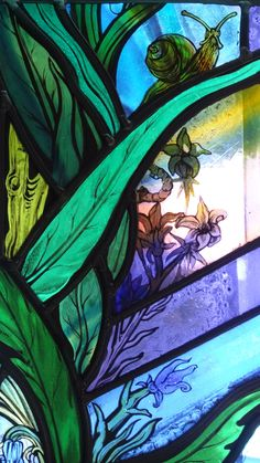 All Saints Church Denmead Hampshire UK stained glass window artist Jude Tarrant 11 | by stainedglassartist