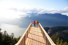 Sea to sky gondola, Squamish, BC, Canada Oh The Places You'll Go, Places To Travel, Places To Visit, Travel Destinations, Cross Canada Road Trip, Sea To Sky Highway, Canadian Travel, Parc National, Road Trip Usa