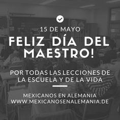 Felicidades a los maestros en su día #maestros #Diadelmaestro