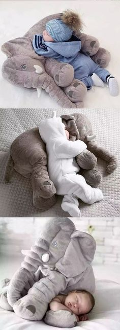 Baby Shower Gifts This Giant Elephant Baby Pillow will make the perfect gift for baby showers or b… Elephant Shower, Elephant Baby, Elephant Pillow, Elephant Gifts, Baby Elefant, Baby Pillows, Plush Pillow, Cute Baby Gifts, Boy Gifts