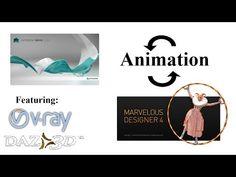 marvelous designer animation (to maya and back) - YouTube