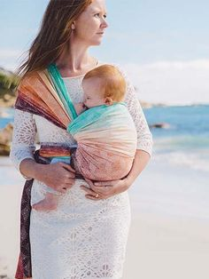 Starry Night Noosa Bamboo Organic Cotton Baby Wrap by Oscha Slings