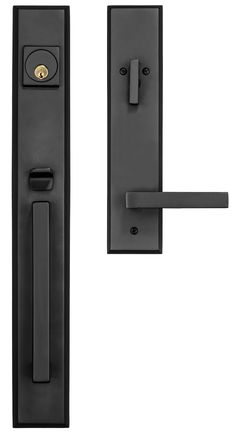 Rockwell Premium Lumina handle set with the Delta Lever in Oil Rubbed Bronze