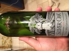 The 1998 Silver Oak from Napa Valley. A gift from Bill DeRonde drinking for Amanda's birthday. Amazing bottle.