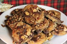 """Cracker candy: Ritz cracker candy toffee. It's called """"crack"""" for a reason!"""