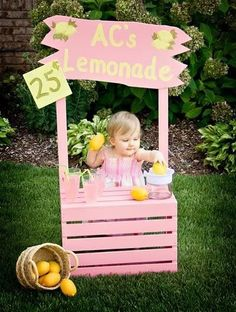 It wouldn't be summer without a pink lemonade stand!