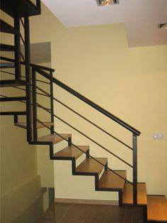 Escalera metalica de hierro