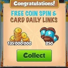 Free Coin And Spin Daily Links - Coin Master Free Coin Daily Links - Daily Free Spin and Coins Daily Rewards, Free Rewards, Master App, Bingo Blitz, Free Gift Card Generator, Coin Master Hack, Play Hacks, App Hack, Free Gift Cards