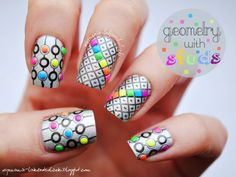 Neon Studs | Nail Gems