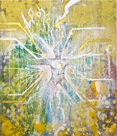 Mind Body Spirit Odyssey: Bursting Forth  #art #adam fergurson #painting #fine art #spirituality