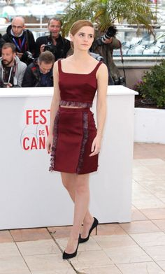 In Christopher Kane at a photocall for The Bling Ring in Cannes in 2013. See all of Emma Watson's best looks.