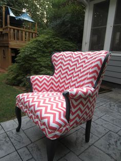 Accent Chair - Pink Lemonade