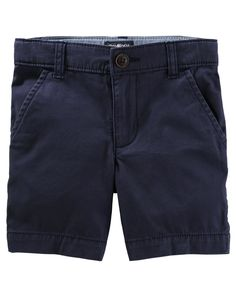 His new favorite go-to shorts, these stretchy bottoms are just what he needs for all of his adventures! The stretch gives him plenty of wiggle room while an adjustable waist keeps them nice and snug.