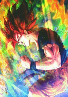 Going Blue Wallpaper Goku Wallpaper, Wallpaper Animes, Dragon Ball Image, Dragon Ball Gt, Manga Font, Dragon Images, Anime Kawaii, Illustrations, Anime Art