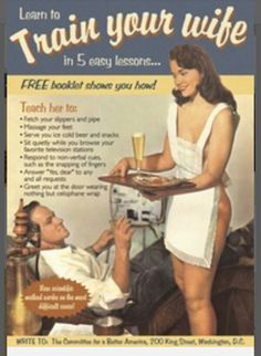 Train Your Wife Ad