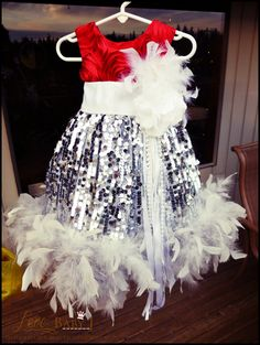 """""""She Lights Up The Night""""... A Sequin Party Dress"""