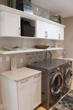 "Laundry Room Designed by ""Homescapes by Lynn"""
