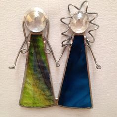 Stained Glass Ornament  Sisters/Best Friends by MamaAgees on Etsy, $10.00