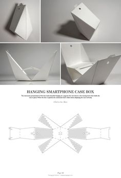Hanging Smartphone Case Box - Packaging & Dielines: The Designer's Book of Packaging Dielines