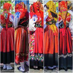 Portuguese traditional costumes. Viana do Castelo