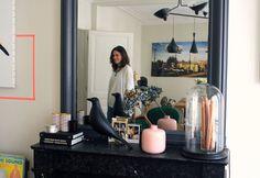 Dans le salon d'Amélie Maudry