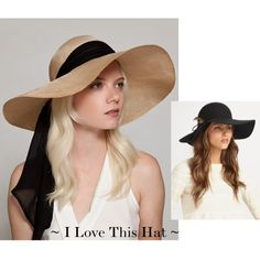 ~ Love ~ Love ~ These Floppy Hats ~