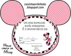 Mickey Mouse Toys, Minnie Mouse Party, Mouse Parties, Minnie Baby, Happy Birthday, Birthday Parties, Binder Covers, Disney Junior, Childrens Party
