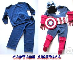 DIY Halloween DIY Costumes: DIY Captain America & Thor Costumes