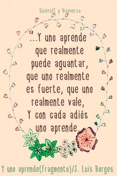 〽️ Y uno aprende. Jorge Luis Borges