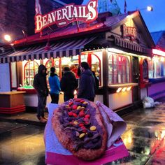 Let the pastry lead you... BeaverTails Byward Market, Ottawa ON Instagram photo by @dj_skillz (Dj Skillz)