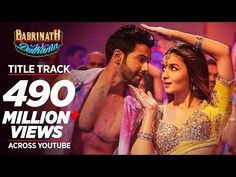 "Presenting most popular bollywood song of 2017 BADRI KI DULHANIA (Title Song) full video from the new Hindi movie ""Badrinath Ki Dulhania"" starring Varun Dhaw. Audio Songs, Movie Songs, Mp3 Song, Hit Songs, New Hindi Movie, Hindi Movies, Hindi Dance Songs, Indian Video Song, Bollywood Music Videos"