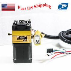 All Metal MK8 Extruder Print Head  w/ Stepper Motor Nozzle & fan for 3D Printer