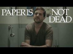 Paper Is Not Dead - Why Paper Will Never Be Dead - Le papier ne sera jamais mort - Emma! - YouTube