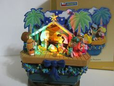 SNOOPY CHARLIE BROWN HALLMARK ULTRA RARE PEANUTS CHRISTMAS PAGEANT ORNAMENT 2005