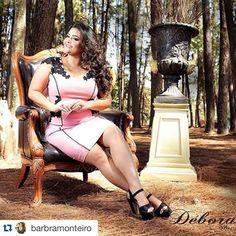 #Repost @barbramonteiro with @repostapp. ・・・ #babimonteiro #positivebody #plussize #brasil #curverock #Plus #positivebody #modeling #modagg #tallasgrandes #brasil #curverock #Plus @curvygirlsvip #deborahplussize