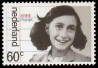 "Netherlands postage stamp showing an image of Anne Frank, who as a young girl was a victim of the Holocaust. After WWII, she became famous for her diary published as ""The Diary of a Young Girl. Anne Frank Quotes, Anne Frank House, Postage Stamp Art, Going Postal, Tampons, Stamp Collecting, Oeuvre D'art, Netherlands, Trip Advisor"