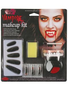 Check out The Vampiress Character Makeup Kit from Wholesale Halloween Costumes